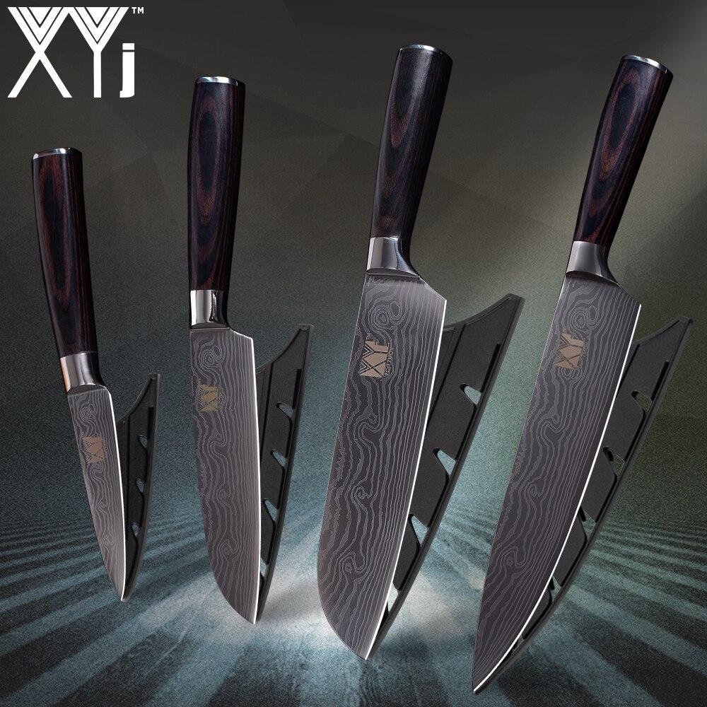 XYj Brand Kitchen Knives 3.5