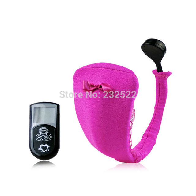 2016 New Vibrating Panties 10-Speed Wireless Remote Control Strap on  C-String Underwear