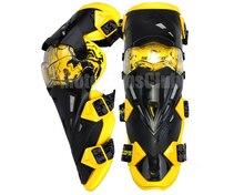 Горячие продажи Гонки На Мотоциклах желтый Мотокросс Наколенники желтый Защитное Снаряжение