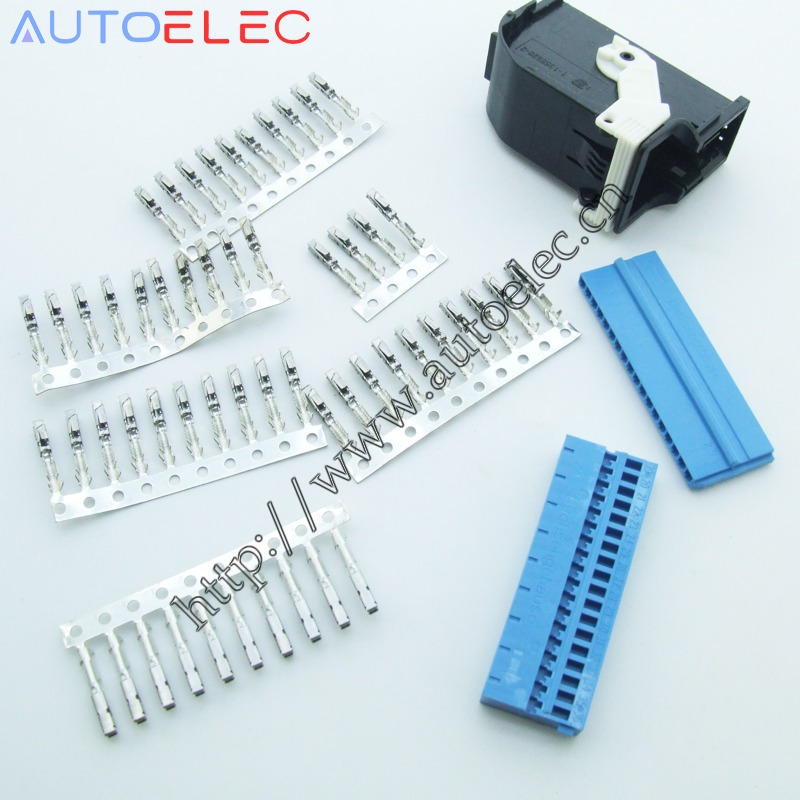 1Kit 4E0972144 Automotive Connector with terminal for Volkswagen Audi BMW  Bluetooth plug a6 a4 a8 c6 8k 4f and more!