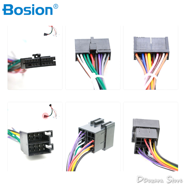 Universal ISO Wire Harness Female Adapter Connector Cable Radio