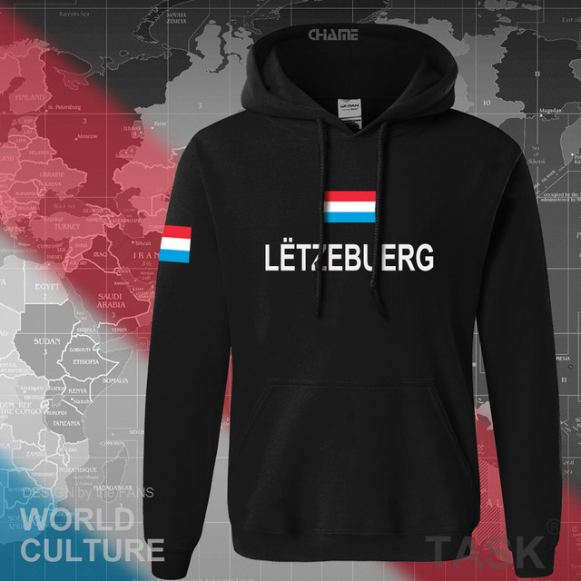 Luxembourg Luxembourger hoodies men sweatshirt sweat new hip hop streetwear clothing sporting tracksuit nation LUX Luxemburg 1