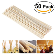 50 Premium  white  Rattan Reed Fragrance Diffuser Replacement Refill Sticks 300mm *3.5MM