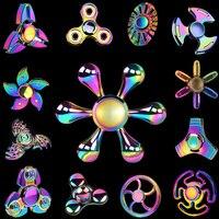 Rainbow Ferris Wheel Polar Lights Fidget Spinners Hand Spinner Figet Finger Spiner Toys for Anti stress Children Kids Gift
