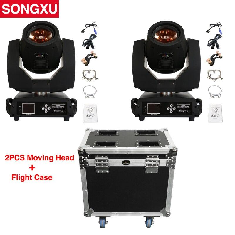 230W Sharpy 7R Beam Moving Head Light with flight case Lyre Sharpy Beam 2pc light with