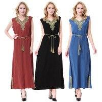 Newest Muslim Abaya Dress Islamic Clothing For Women Muslim Hijab Dress Turkish Traditional Clothes Dubai Abaya