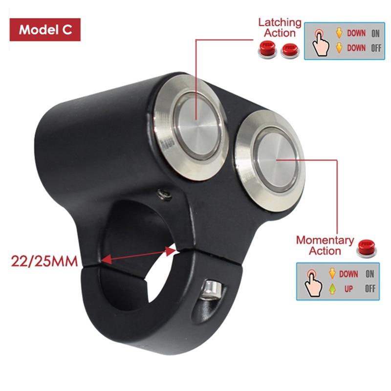 22mm 24mm interruptores de montagem do guiador 04