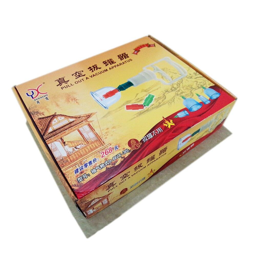 Grand kit 30 tasses chinois médical vide ventouses ensemble YX marque hijama ventouses masseur corps pompe d'aspiration tasse relaxation santé