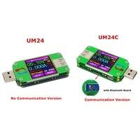 RD UM24C UM24 USB 2 0 Color LCD Display Tester Voltage Current Power Temp Meter J04