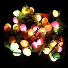 EU Plug LED String Light Christmas Decoration Lights Fruit Lights Holiday Christmas Tree Lantern Cute lighting