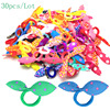 30pcs/lot Rabbit ears Hair band Children kids Hair Accessories Scrunchies Elastic Hair Band for women girl rubber band
