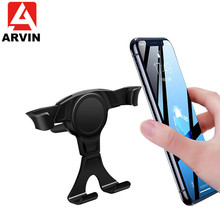 Arvin Car Phone Holder for iPhone X 8 Gravity Air Vent Mount Cell in Mobile Stand Samsung