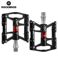 ROCKBROS Mountain Bike Pedals Cycling Ultralight Aluminium Alloy Bicycle Pedals Bicicleta Mtb Road Bike Cycling Pedals