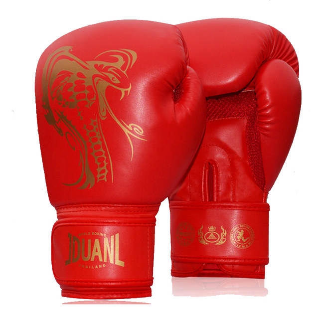 4ab8c99d8 placeholder Boxing Gloves For Sparring 10 oz PU Muay Thai Boxing Gloves  Sanda Kungfu Wushu Men Fighting