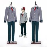 Boku No Hero Midoriya Izuku Todoroki Shoto Cosplay Uniform Costume Anime My Hero Academia