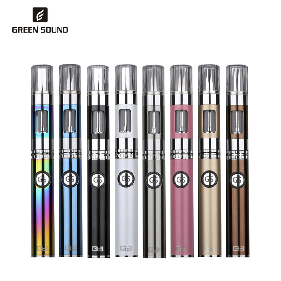 US $27 99 |Original Green Sound G3 Vape Kit eGo vaporizer with 900mah 3 0ml  Dual Iph&Android charging port Electronic Cigarette vape pen-in Electronic