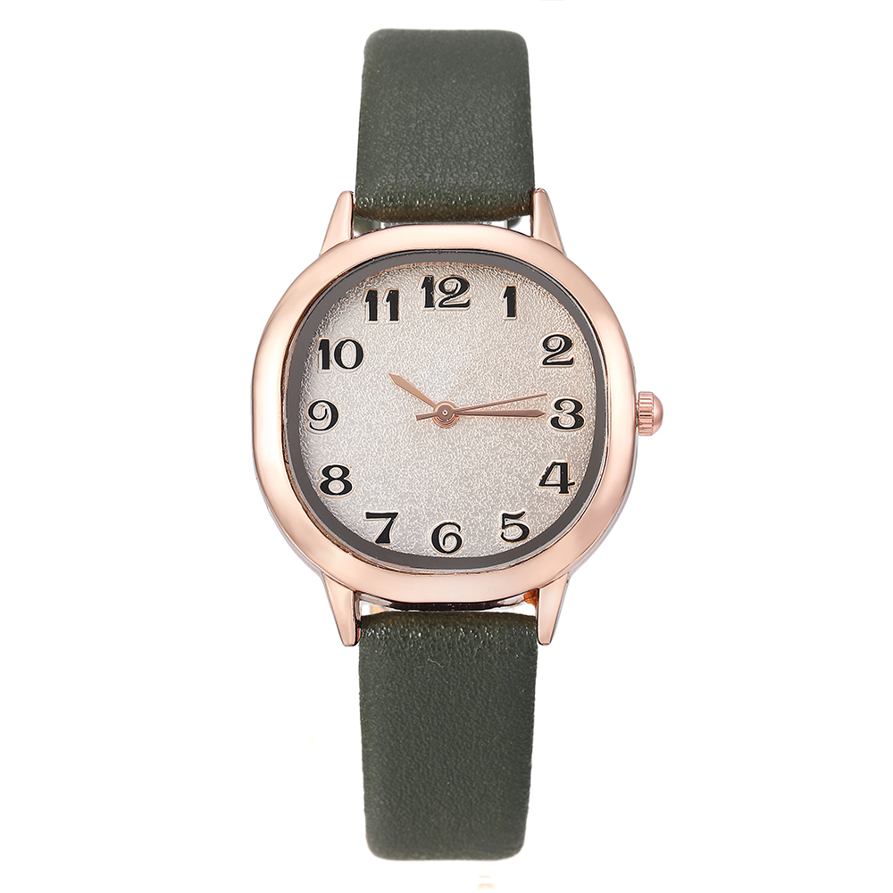 Quartz Wristwatches Fashion  Simple Women Watches Hot Sale Leather Ladies Bracelet Watch Casual Female Clock Relogio Feminino