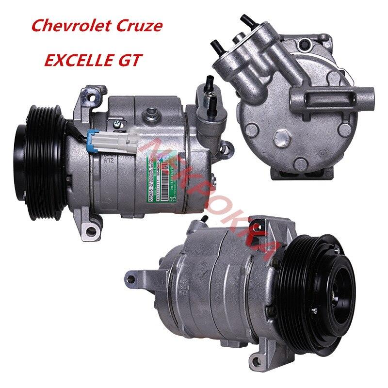 Автомобильный Кондиционер оригинальный компрессор для Chevrolet Cruze для EXCELLE GT 1,6 T 2009 2017 6PK