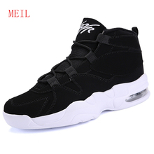 Winter Boots Men Waterproof Leather Boots Men High Top Shoes 2018 White Fall Winter Footwear Lace-Up Casual Shoes Man Size 39-45 цена