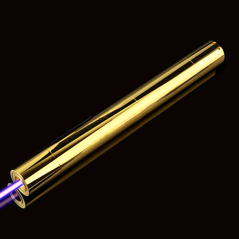 Alta potência todos os cobre Mais Poderoso jogo queimadura Focalizável Azul Ponteiro Laser sight caça lazer 450nm1000m vela acesa do cigarro