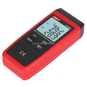 Image 5 - UNI T UT320D Mini Contact Thermometer, Dual Channel K/J Thermokoppel Thermometer Data Te Houden Automatisch Uit