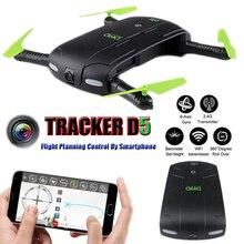 DHD D5 Quadcopter Drone With Camera HD FPV Mini Dron Selfie Quadrocopter RC Helicopter Helicoptero De Controle Remoto Toys