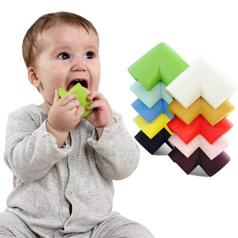 6Pcs/lot 60*60*12mm Soft Baby Safe Corner Protector Baby Kids Table Desk  Corner Guard Children Safety Edge Guards