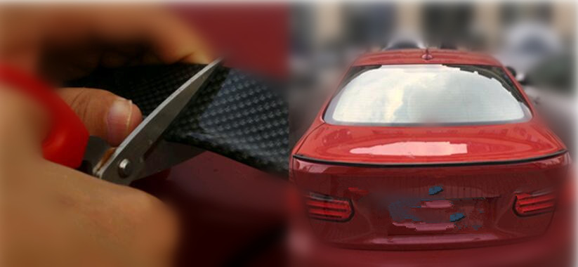 Accessoires de garniture extérieure d'autocollants de voiture pour opel astra h skoda kia rio golf 4 passat b6