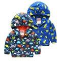 Children's Hooded Jackets Spring Boys Outerwear Fashion Long Sleeve Dinosaur Boys Coat Cute Boy Hoodie Casaco Infantil Menina