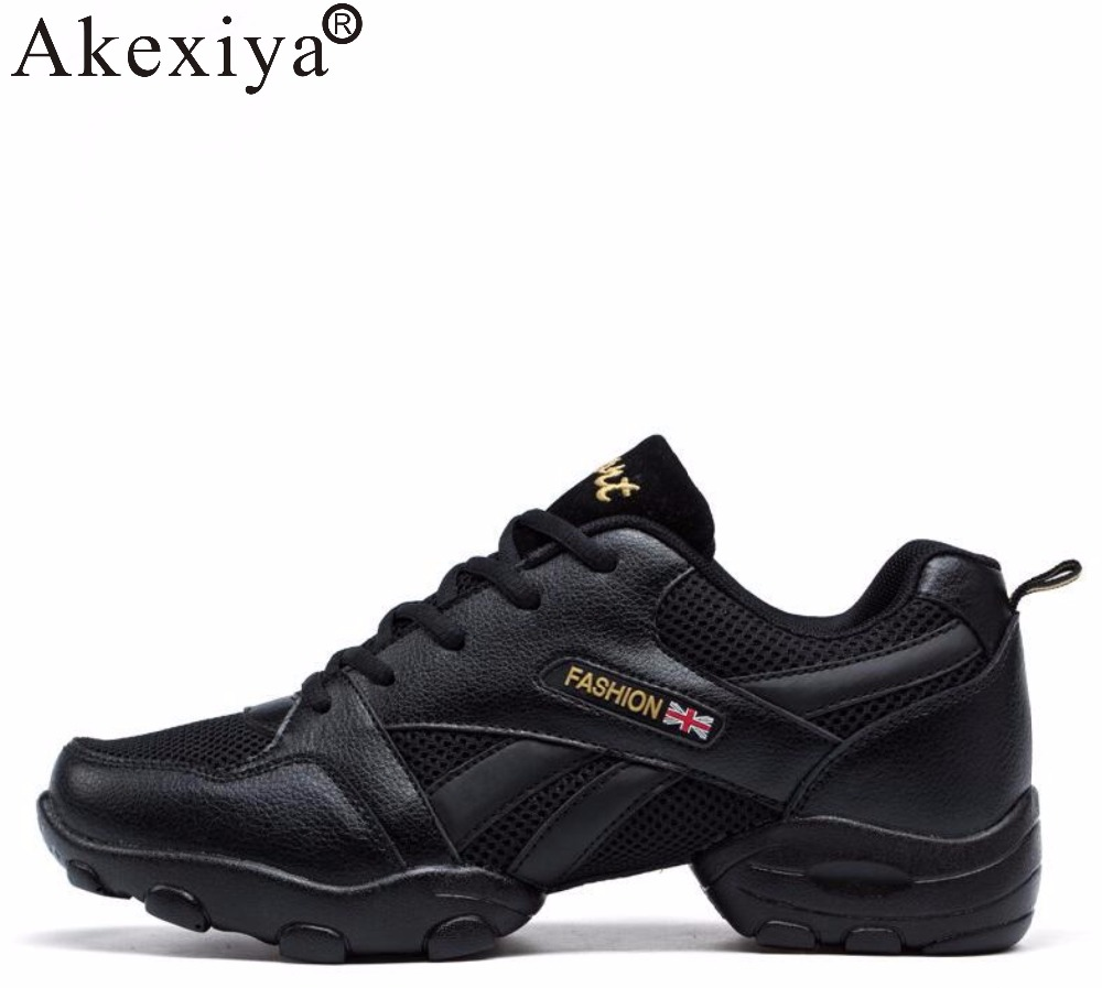 Akexiya 2019 Summer Dancing Shoes For Men Modern Jazz Ballroom Tango Latin Dance Sneakers Comfortable Breathable Soft Gym Shoes
