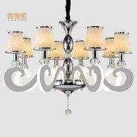Veayas Led Modern Chandelier Lighting Novelty Lustre Lamparas Colgantes Lamp