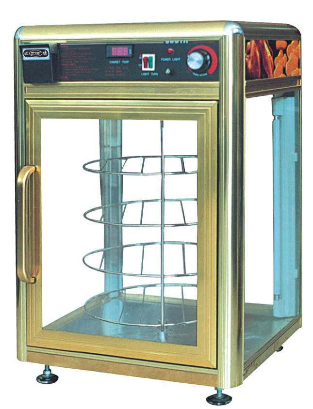 Pizza Pizza elétrica rotativa gabinete mais quente com humidifying & umedecendo rotay aquecimento hidratante equipamento de exibição showcase