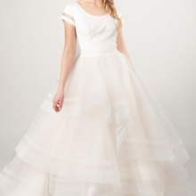 cecelle A-line Wedding Dresses With Cap Sleeves