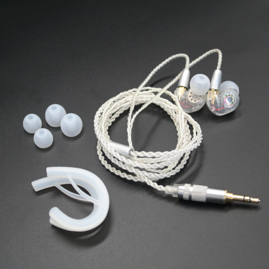 TD36 DIY MMCX Cable Earphone Replaceable Wire for Shure SE215 SE535 SE846 UE900 Silver Plated Line Headset for iPhone xiaomi mp3 chrome oxide plated steel wire guide pulley for wire industry