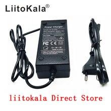 HK Liitokala 36V зарядное устройство выход 42V 2A зарядное устройство Вход 100-240 VAC литий-ионное зарядное устройство для 10S 36V электровелосипеда