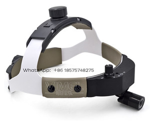 Image 2 - LED Surgical Headlight with helmet High Power Medical Dental Head Lamp Adapter Head Mounted Medical Light