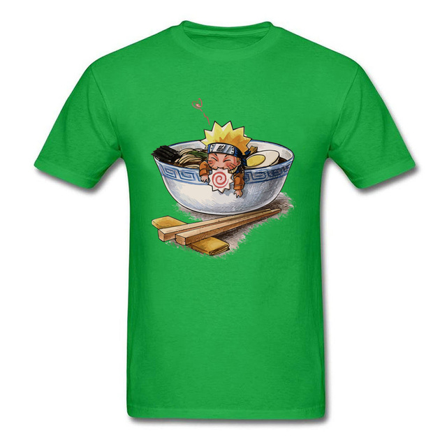 Naruto Ramen Camiseta Linda (10 Colores)