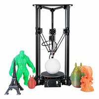 Hot Sell DIY 3d Drucker Machine Sinis T1 Laser Head Delta 3d Printer Imprimante Intelligent Diy Model Best 3d Printer Kit