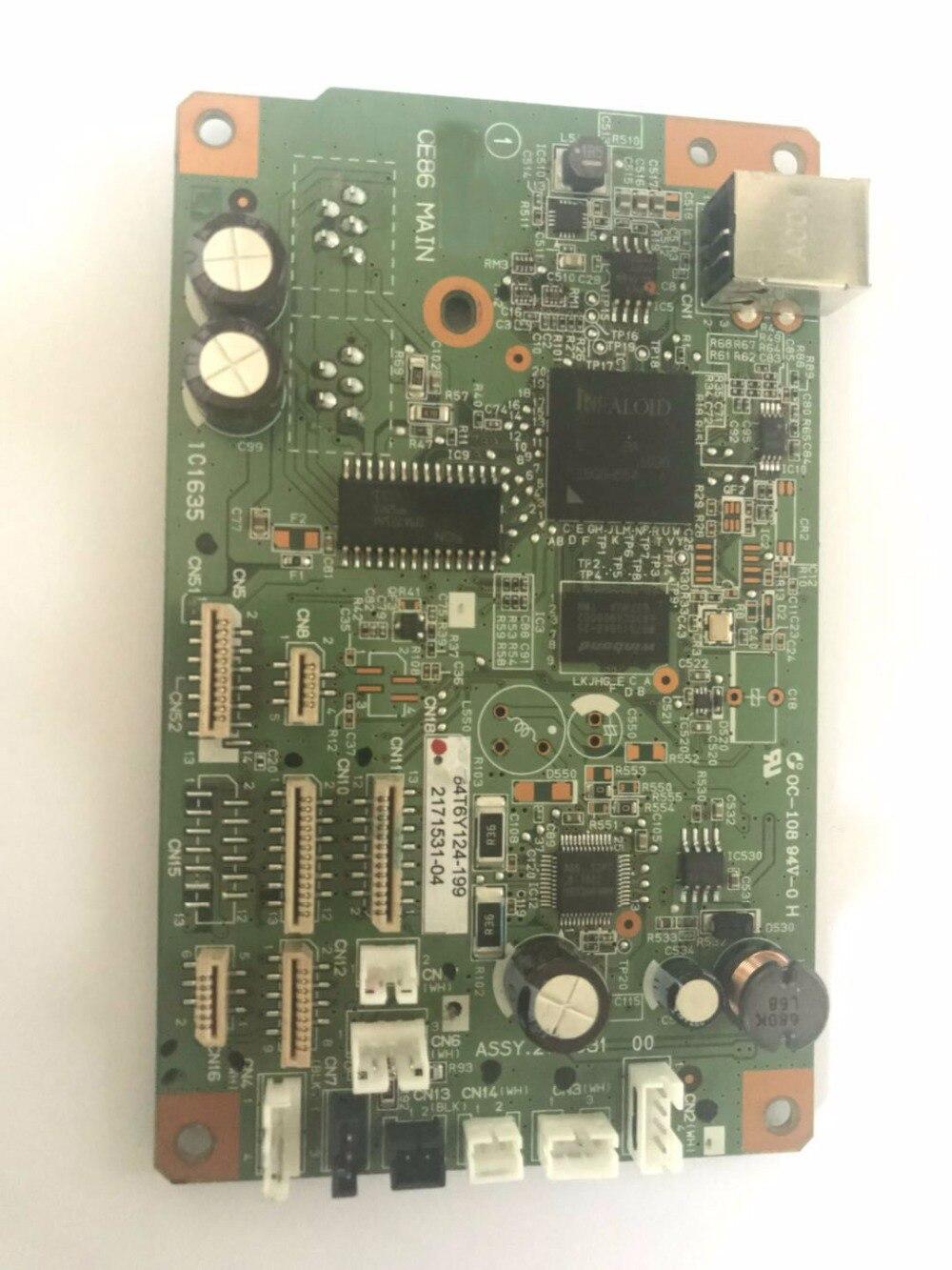 CE86 Formatter Board logic Main Board MainBoard mother board  for EPSON L805 805 formatter pca assy formatter board logic main board mainboard mother board for hp m775 m775dn m775f m775z m775z ce396 60001