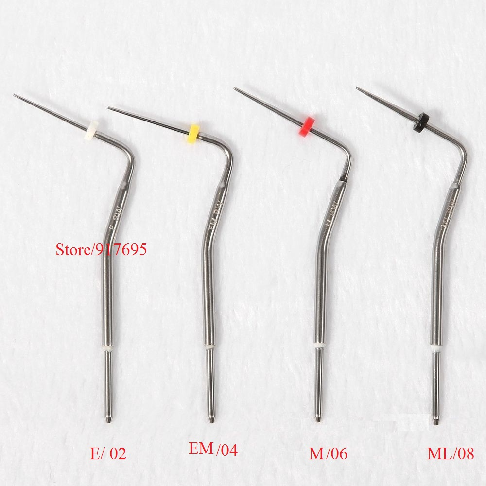 Dental Pen Heated Tip Needles F / FM / M / ML For Endodontic Root Obturation Endo System 1pcs dental heated tip dental pen heated tip needles for endodontic root obturation endo systemteeth whitening