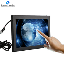 Lanmade Manufacturing facility direct sale 10.1in USB HDMI/VGA/DVI sensible system wall mount capacitive touchscreen LCD TV
