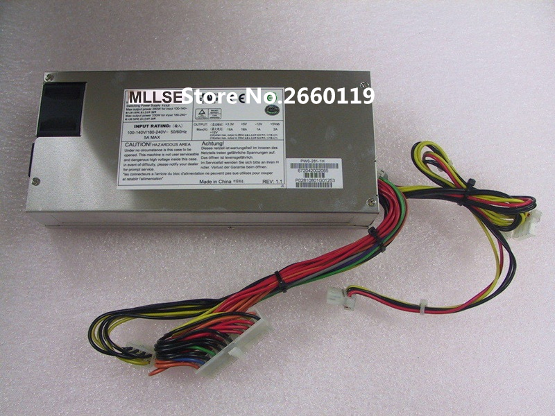 100% Working Desktop For PWS-281-1H 280W Power Supply Full Test