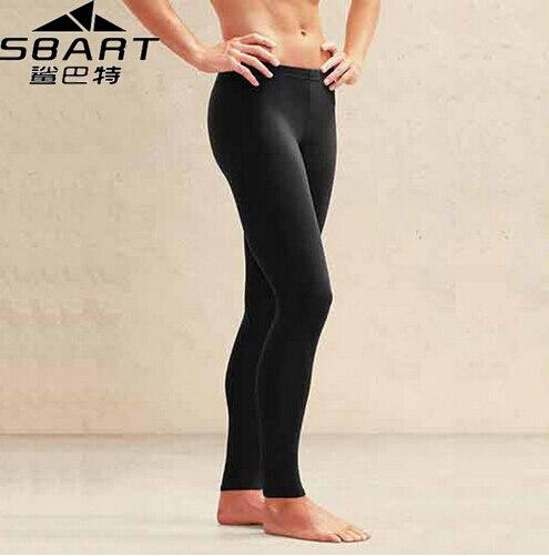 SBART Mens Diving Pants Deportivas New Yoga Pants Plus Size Rash Guard Pant Leggings Black Gym Fitness Men Tight