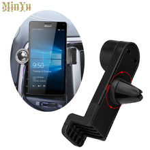 Adjustable Phone Holder Car Air Vent Mount Bracket for Microsoft Lumia 950XL 950 925 735 640 640XL 540 430 535 532 435 Phones