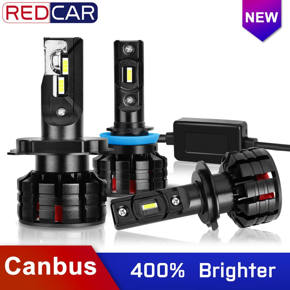 2Pcs H7 <font><b>Led</b></font> Canbus H1 <font><b>H3</b></font> H4 H8 H11 HB3 9005 HB4 9006 <font><b>Led</b></font> Headlights Mini <font><b>100W</b></font> 10000LM 6000K Car Light Bulbs Auto Lamp Automobile image