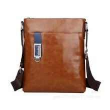 Hot Sale Messenger Bags New Design!men's Color Crazy Horse Pu Leather Messenger Bag Men Sturdy Inclined Shoulder Bag   LJ-126