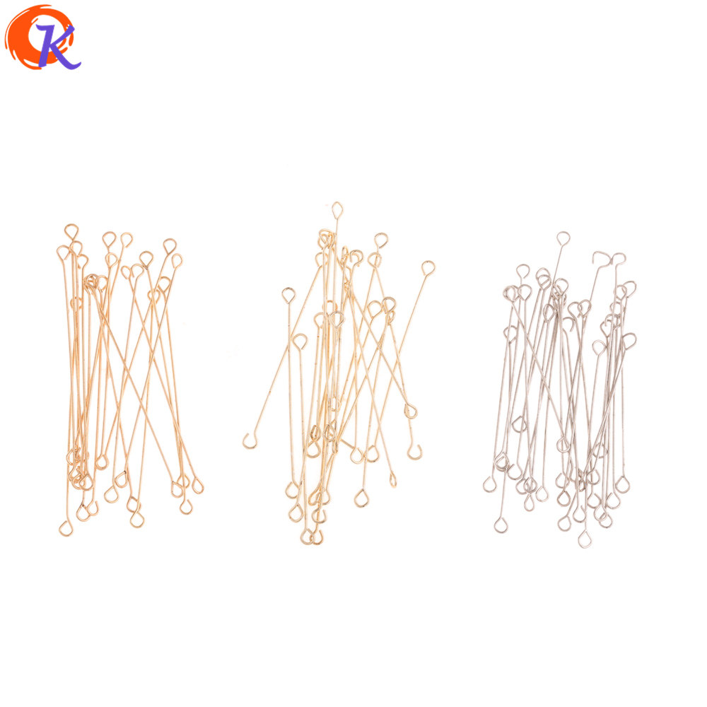 Cordial Design 100Pcs 2*30MM Jewelry Accessories/DIY Making/Earrings Connectors/Stainless Steel Stick/Hand Made/Jewlry Findings