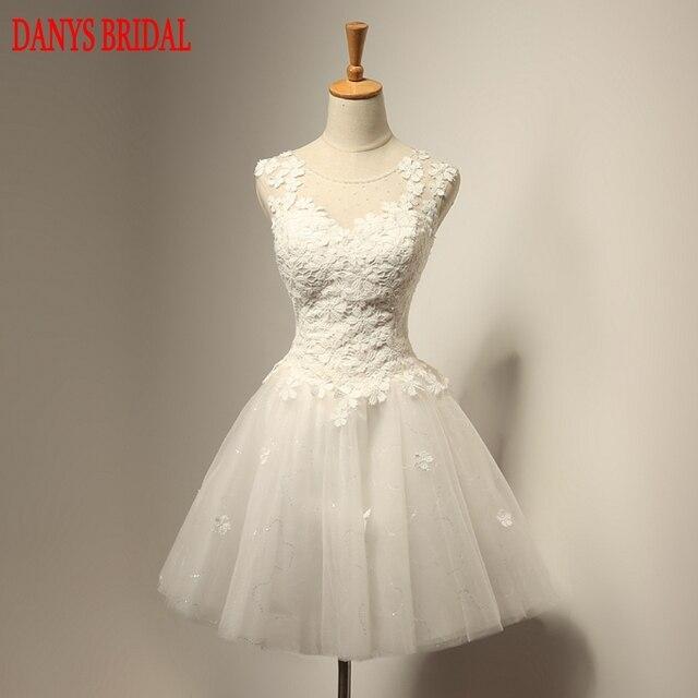 479c7933e Vestidos de novia cortos de encaje vestidos de novia sexis vestidos de novia  Weeding vestidos de