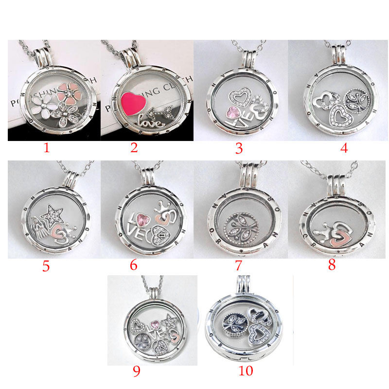 100% 925 silver necklace for women classic pendant necklace Free shipping