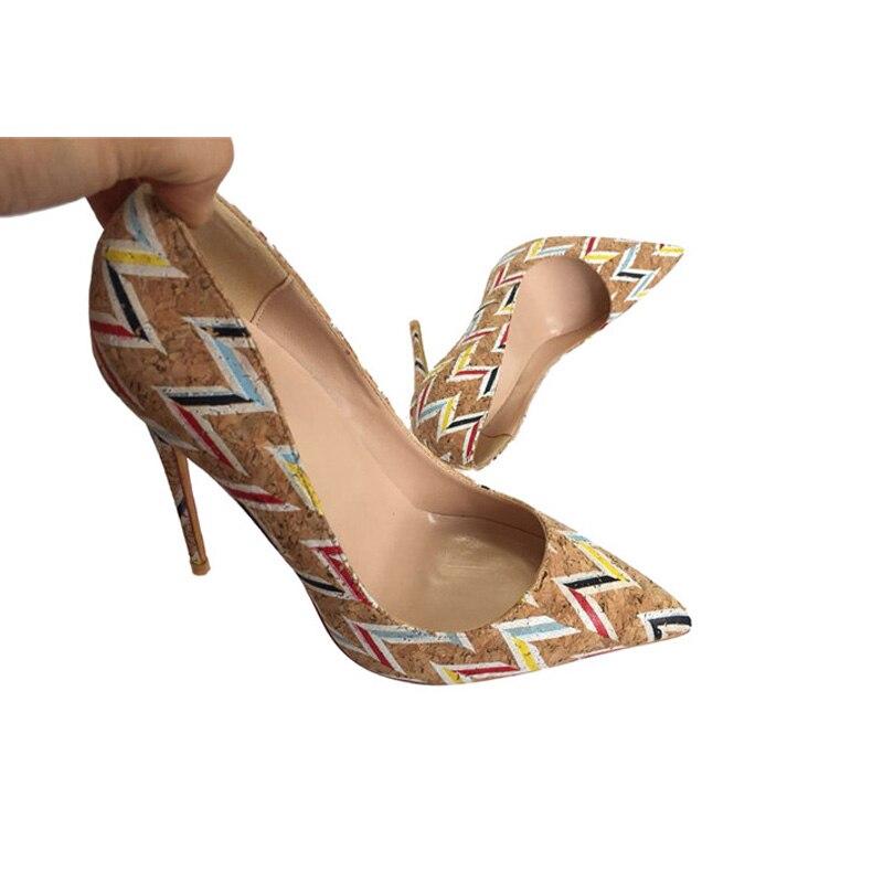 fe283ee76c Heel Bombas Altos Heel Yg008 Zapatos Stilettos Imprimir Mujer Tacones 12  10cm Señoras Cm Boda 12cm Marca 8cm Heel Mujeres Roviciya wYSIZw